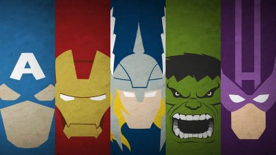 50 Minimalist HD Avengers Wallpapers to get you ready for Infinity War