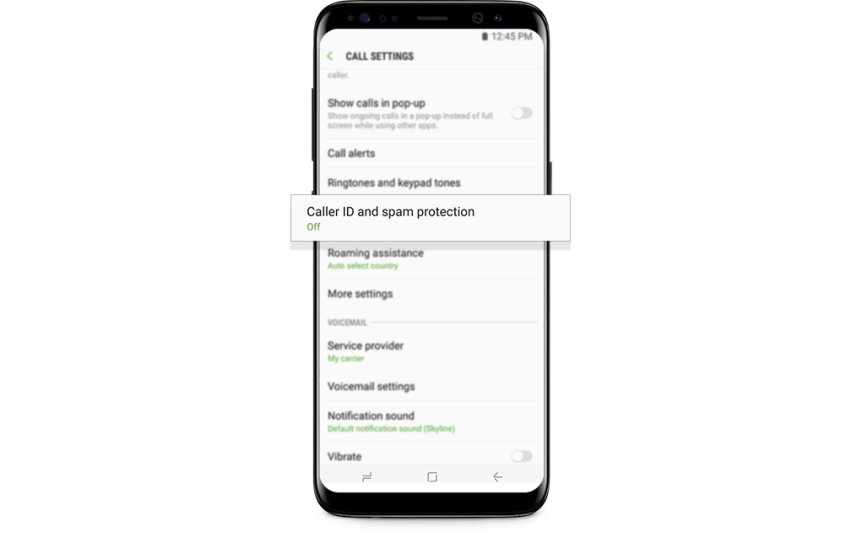 How to automatically block spam calls on your Samsung Galaxy S9 and S9+ -  deTeched