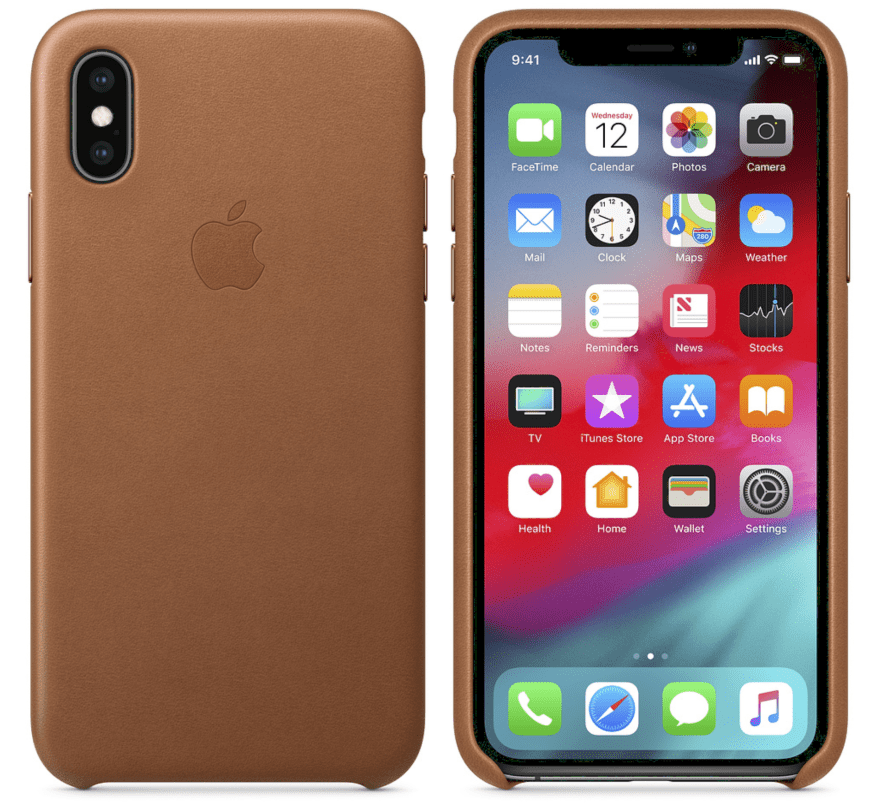 c66fe9a7005b Apple s own leather case for the XS and XS Max is one of our favorites.  It s the one I personally use on my own iPhone because it looks good