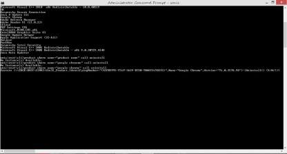 confirm Uninstall a program using command prompt