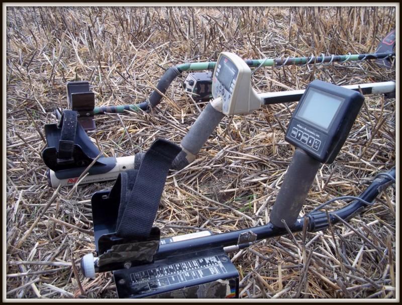 metal detector tests old machines
