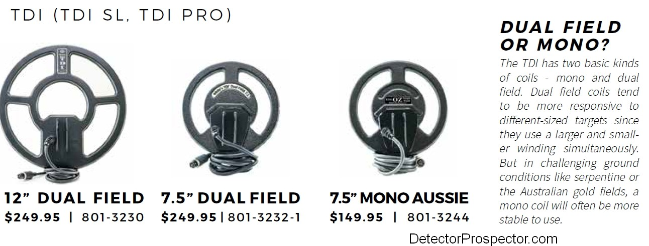 Jimmy Tdi Dual Field Mono Metal Detector : It came with