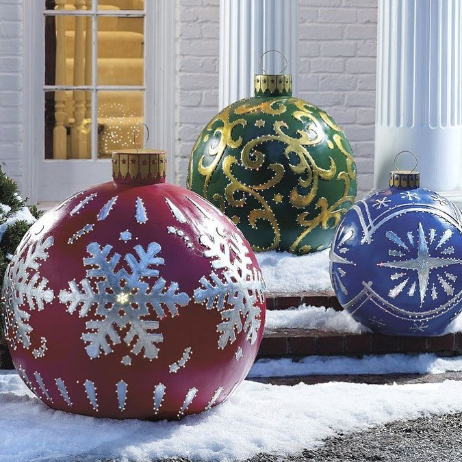 50 Fantastic Outdoor Christmas Decorations For A Sparkling Christmas