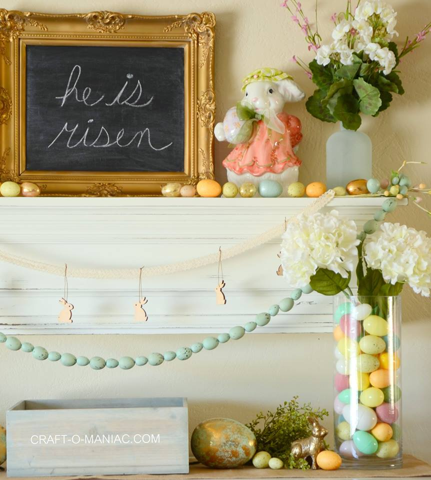 55 Beautiful Easter Inspired Home Decor Ideas