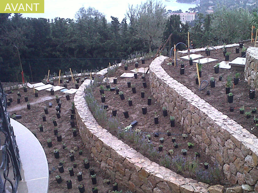 Amnager un jardin en terrasses  Dtente Jardin