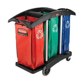 Carrello per raccolta differenziata  Detercartagroup srl