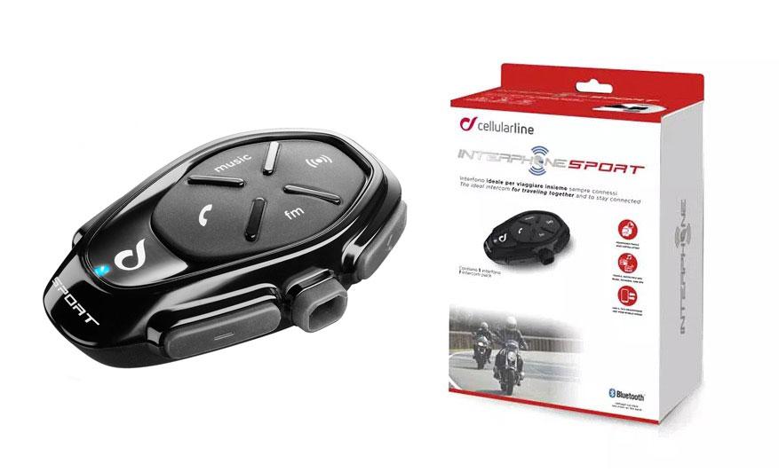 Caja del Interphone Sport