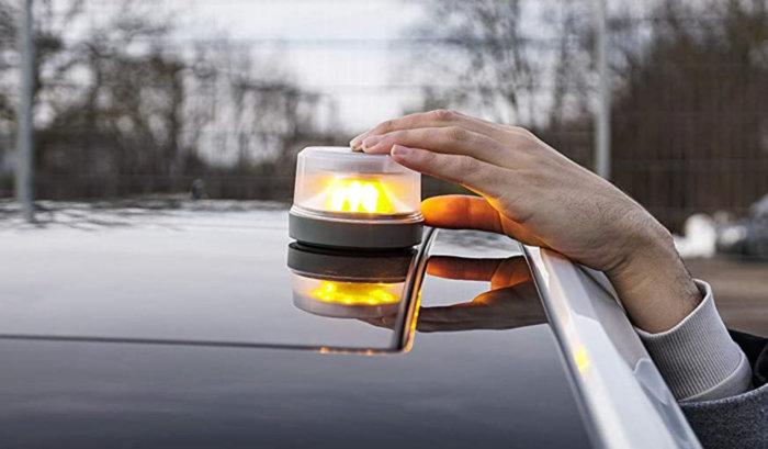 luces de emergencia para coches dgt