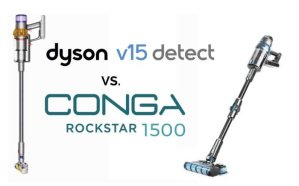 Comparativa Conga Rockstar 1500 vs Dyson V15