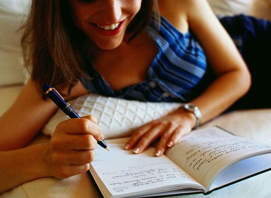 Escribir todos los dias al despertarse en una agenda