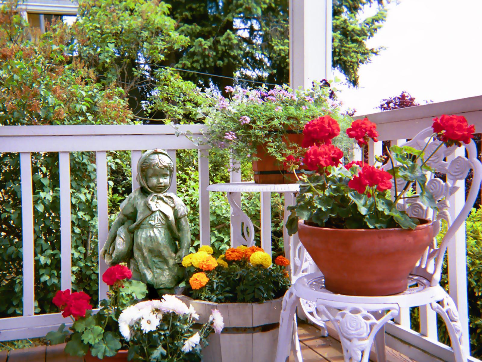10 consejos para armar un jardín en tu balcón