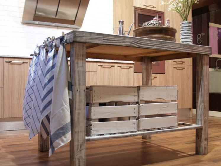 Mesa con pañuelos