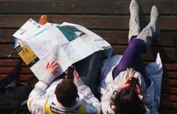 Personas con mapa