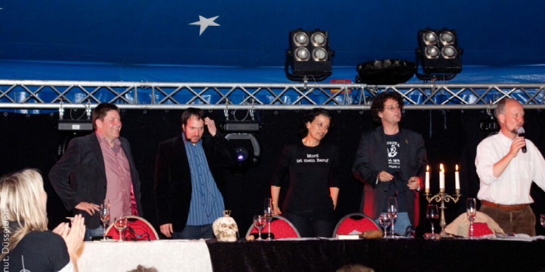Klaus Stickelbroeck, Carsten Sebastian Henn, Tatjana Kruse, Peter Godazkar und Ralf Kramp