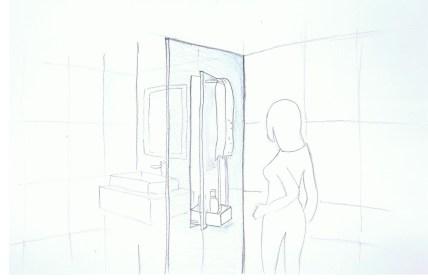 Wir alle benutzen das Bad auf eine gleiche Weise. Der Gang zur Toilette, das Hände waschen danach, morgens gleich unter die Dusche oder abends nach einem langen Tag. Dennoch sind es die kleinen individuellen Gewohnheiten, die unseren täglichen Ablauf im Bad, uns doch unterscheiden. Mit Dieser Duschabtrennung mit drehender Fläche schafft eine Verbindung IN und Außerhalb der Dusche. So ist es möglich sich während des Duschens die Zähne zu putzen oder auch zu rasieren. Mit einer Drehbewegung wird gleichzeitig das trockene Handtuch, nach dem duschen, zu sich geholt. Das Shampoo, welches eben noch in der Dusche war, ist somit außerhalb und kann für das schnelle Haare waschen am Waschbecken verwendet werden.