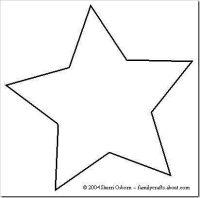Plantillas De Estrellas Para Decorar.Plantillas Estrellas Para Imprimir Plantillas De