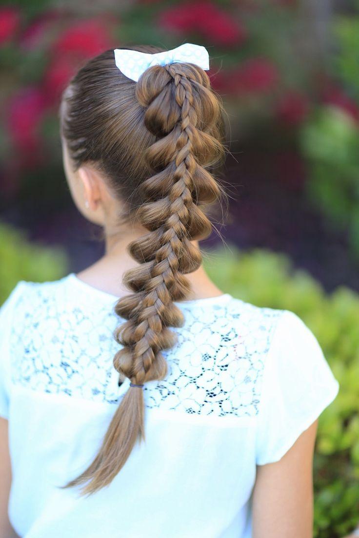 Hermosos Peinados De Nias Para Estar A La Ltima Moda