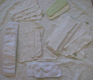 Hemp and Cotton Fleece inserts and doublers