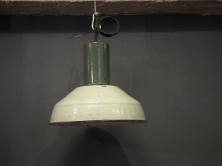 lamp emaille groen 2