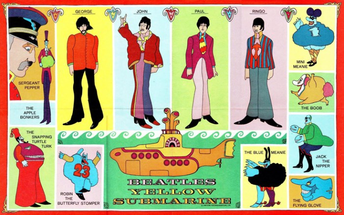 BEATLES-YELLOW-SUBMARINE-COMIC-POSTER