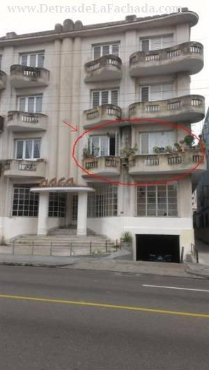 Venta de Apartamento en El Vedado Malecn Plaza de la Revolucin La Habana Cuba  Detras de la Fachadacom  calle 12  21 y 23