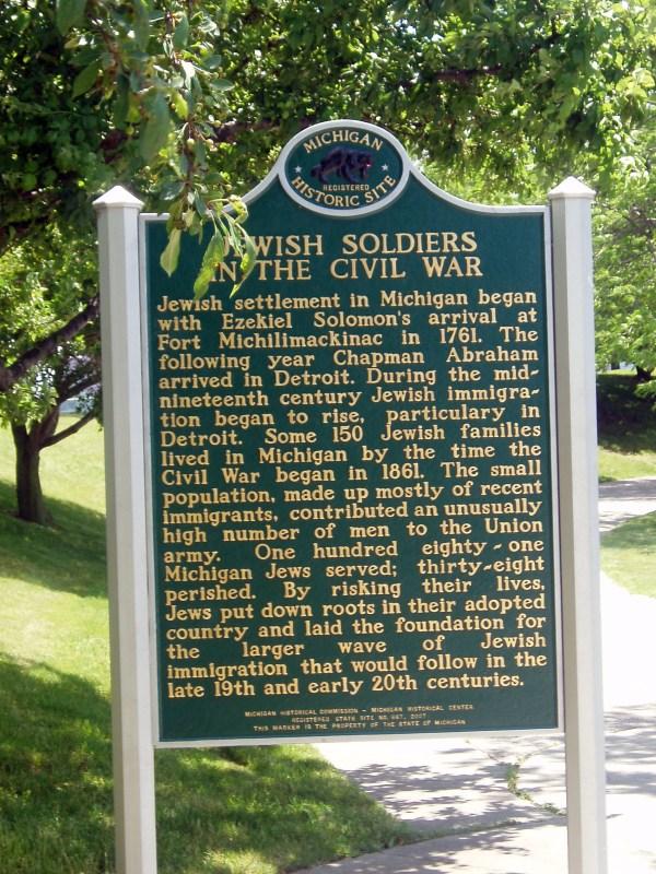 Civil War Historical Markers