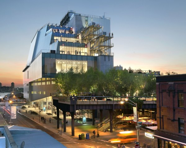 Whitney Museum Meat Packing District Nyc