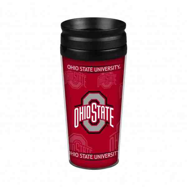 Ohio State Buckeyes 14oz. Full Wrap Travel Mug - Detroit