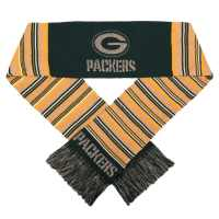 Green Bay Packers Glitter Stripe Scarf - Detroit Game Gear