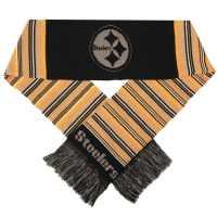 Pittsburgh Steelers Glitter Stripe Scarf - Detroit Game Gear