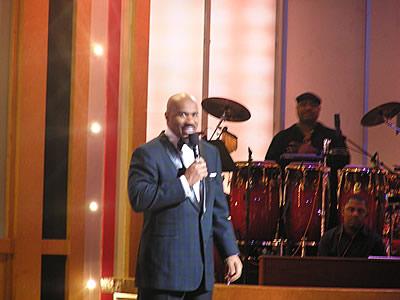 BET Celebration of Gospel host Steve Harvey