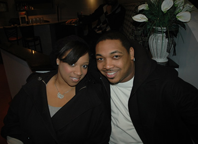 Gospel artist Keirra Sheard and fiance', Pastor Welton Smith