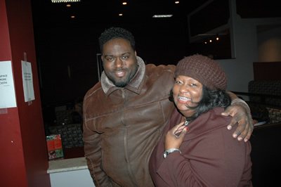 Kevin Bass and Gail Lyons (members of comedian John Gray's family)