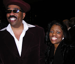 Steve Harvey Red Carpet