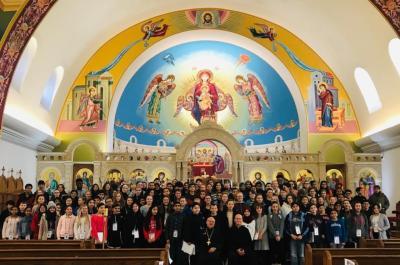 RDJ students visit church
