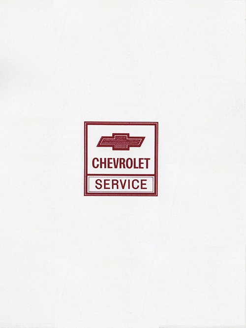 1972 Chevy Truck C/K OEM Shop Manual in Paper Format