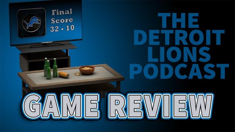 Detroit Lions - Game Review