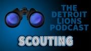 Detroit Lions Scouting