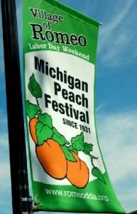 romeo peach festival