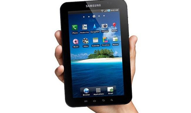 Samsung Galaxy Tab takes the cake