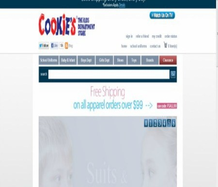 Back to School Online Shopping with Cookie's Kids