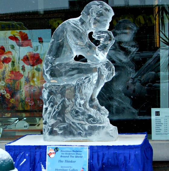 Fire and Ice The Thinker 2013