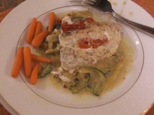 pop up pantry cod dish