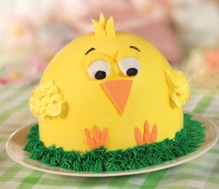 Celebrate Spring with This Charming Chick Ice Cream Cake **Gift Card Giveaway**