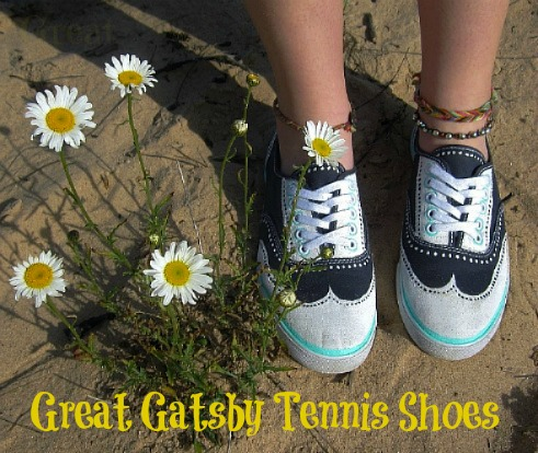 Great Gatsby Tennis Shoes 5