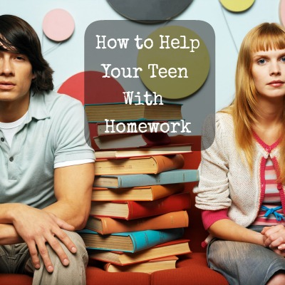How to Help Your Teen with Homework
