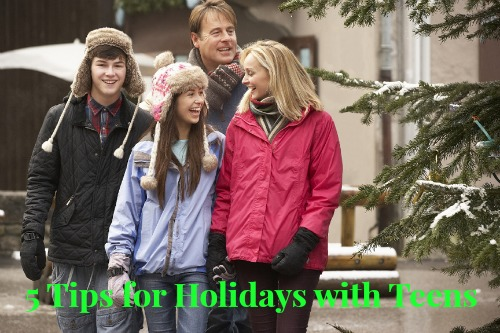 5 Tips for Holidays With Teens