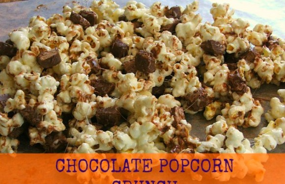 The Perfect Chocolate Popcorn Crunch