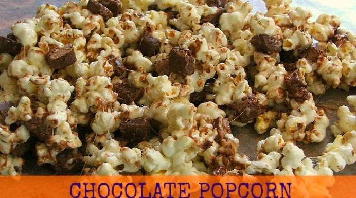 The Perfect Chocolate Popcorn Crunch