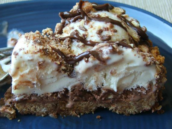 Ice Cream Pie Slice